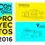 Convocatorias 2016 – Beca para investigación y producción de texto crítico