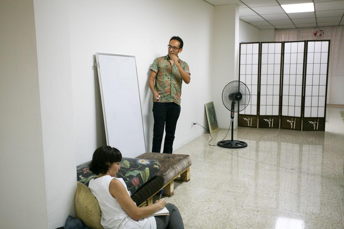 Taller – Fiebre curatorial