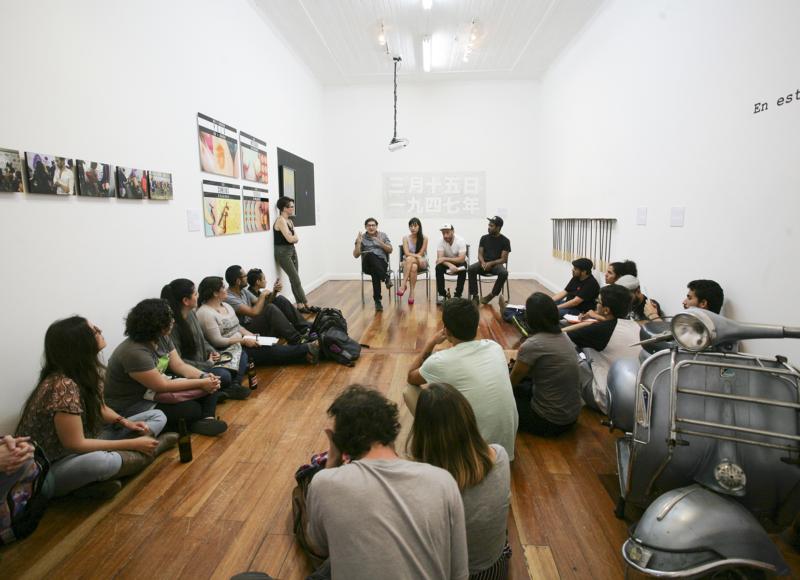 Conversatorio con artistas – Lo escrito, escrito está