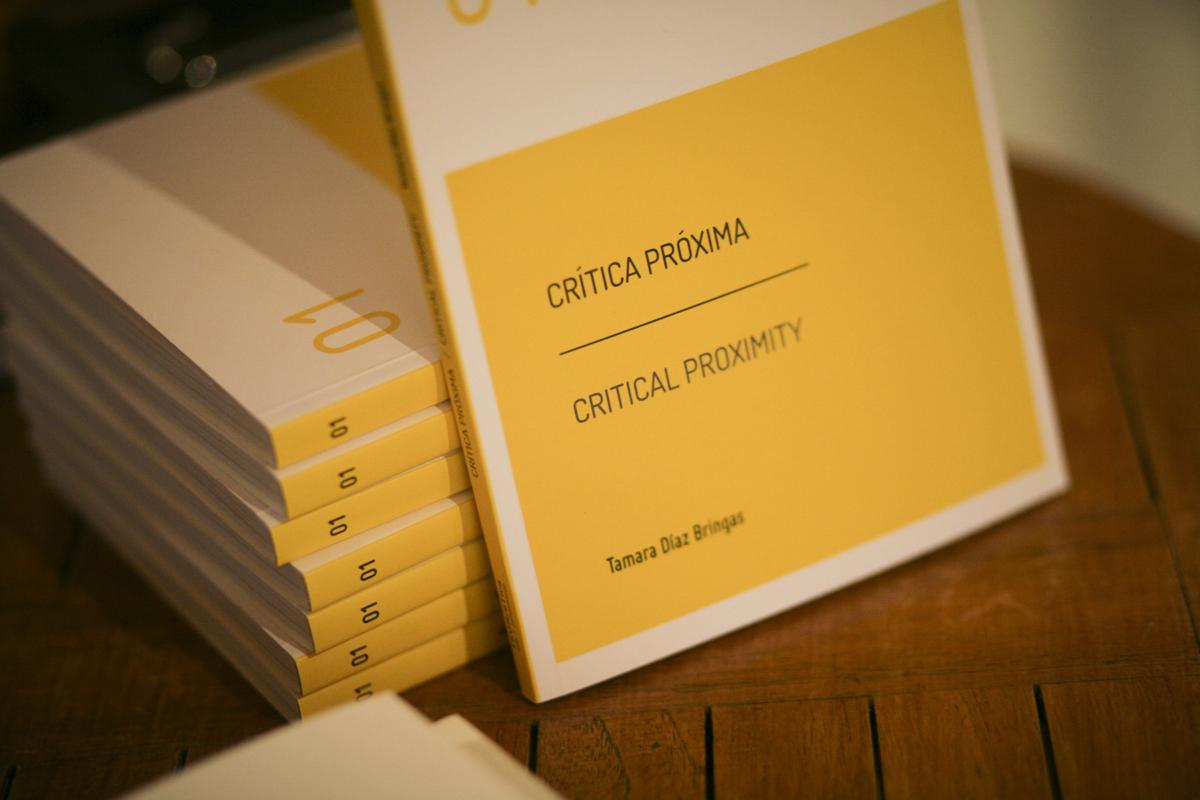 PRESENTACIÓN – Escrituras Locales Vol. I: Crítica Próxima de Tamara Díaz Bringas
