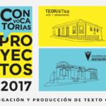 Convocatorias 2017 – Beca para investigación y producción de texto crítico