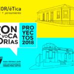 Convocatorias 2018 – Beca para investigación y producción de texto crítico
